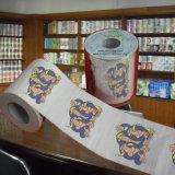 El papel higiénico impreso diseña el tejido de cuarto de baño al por mayor de la novedad del surtidor