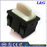 전기 공기조화 보온장치 16A 2pin 단추 토글 마이크로 로커 스위치 (SS24)