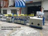 Hohe Präzisions-führendes Technologie Fluoroplastic Schlauchplastikstrangpresßling-Zeile