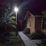 Tutti in un indicatore luminoso di via alimentato solare del LED 6W