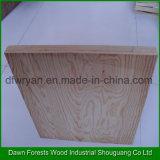 Madera contrachapada decorativa de la madera de la madera contrachapada de la chapa del pino