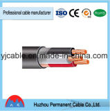 Fil de cuivre du fil électrique conduite isolant en PVC du câble de masse 600V---Tsj