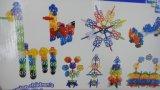 Geometrie-Schneeflocke-Baustein-Kind-Spielzeug