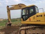 Excavador de segunda mano barato usado PC200-6, PC200-7 de la correa eslabonada de KOMATSU PC200-7 del buen funcionamiento