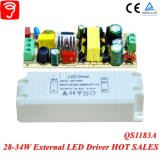 trasformatore isolato tensione completa dell'indicatore luminoso di comitato di 28-34W Hpf LED con Ce TUV QS1183A