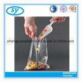 Preiswerteres Preis-Nahrungsmittelgrad HDPE flache Plastiktasche auf Rolle