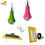 High Efficiency Solar Panel Lantern Kit de iluminação solar exterior com carregador de celular