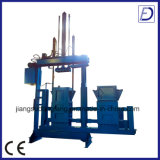 Vertikales hydraulisches Abfall-Verdichtungsgerät und Ballenpresse