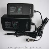 batería portable del Li-ion del cargador de batería de 12.6volt 3AMP 4AMP 110-240VAC 3cell