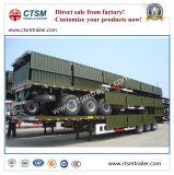 De Vervoerende Staak van het vee/Aanhangwagen van de Vrachtwagen van de Omheining de Semi