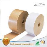 Karton, der selbstklebendes Kraftpapier Lochstreifen packt