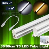 T5 4FT 60cm 8W 9W LED 관 빛