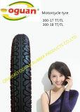 El neumático de la motocicleta de la buena calidad