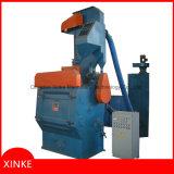 Tumble-Typ Granaliengebläse-Maschine mit Gummiriemen für Befestigungsteile und Befestigungsteile