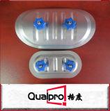 Volet en acier electroplated de conduit pour la tuyauterie AP7411/AP7410