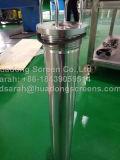 Derramamiento del tubo de taladro del acero inoxidable/pantalla del tubo Drilling para controlar de la arena
