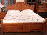 固体木のベッドの現代ダブル・ベッド(M-X2252)