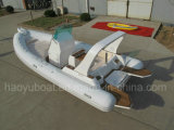 Sale를 위한 세륨 Certified 6.8m Inflatable Rib Boat, Rescure Boat, Fishing Boat, Dive Boat, PVC 및 Hypalon Boat Rib680