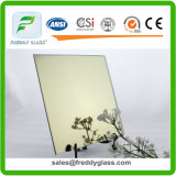 miroir coloré par aluminium en bronze d'or de 1.5mm-6mm