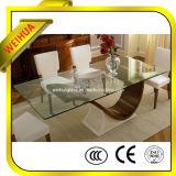 セリウム、CCC、ISO9001が付いているガラス上のためのダイニングテーブルベース