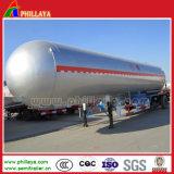 半LPGの液化天然ガスCNGのタンカーのトレーラー
