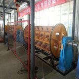Máquina de encalladura rígida del marco del cable de alambre con el sistema lateral de la bobina del cargamento