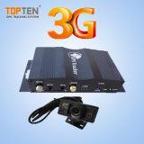 Suivi de voiture GPS 3G avec caméra, bouton Sos, surveillance (TK228-KW)