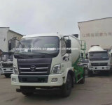 작은 Foton 4X2 6 Cbm 교반기 트럭 트럭 8 톤 시멘트 믹서