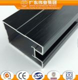 Perfil de aluminio anodizado para la ventana y la puerta