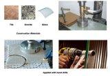 Профессиональным пустотелое сверло диаманта ранга паяемое вакуумом сдержанное для стекла мрамора плитки