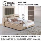 Mobília moderna da base do couro genuíno do estilo - Fb3073