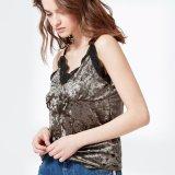 Sexy Fashion Women Camisole Lace Velvet Vest Top