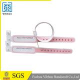 Umweltfreundlicher Form-PlastikverschlußplastikWristband für Krankenhaus