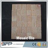 Mattonelle di mosaico di pietra di Granite&Marble&Travertine&Quartz per il pavimento/pavimentazione/parete/stanza da bagno/cucina