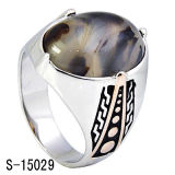 Fatory caldo vendendo 925 Nizza anelli d'argento degli uomini dei modelli