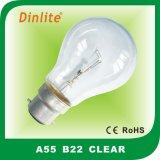A55 E27/B22 Glühbirne für Innen