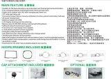 10 Zoll Bildschirm-verwendete Stickerei-Hochgeschwindigkeitsmaschinen-industriell