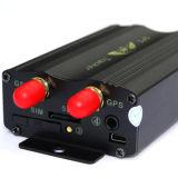 Neues Gleichlauf-System des GPS-Auto-Feststeller GPS-Verfolger-TK 103A mit externer GSM/GPS Antenne