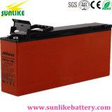 12V 100Ah batería de plomo ácido Terminal frontal de la estación de telecomunicaciones