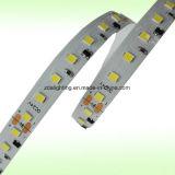 2중 선 144LEDs/M SMD2835&Nbsp; 강력한 6000k는 백색 LED 빛 지구를 냉각한다