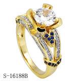 Damas anillo de plata de Hotsale 925 micropavé Anillos CZ Fantasía