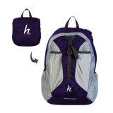 Couleur solide sac à dos de loisirs de pliage voyage OEM Duffle Bag Sac à dos léger et pliable unisexe