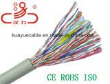 Cavo dell'audio del connettore di cavo di comunicazione di cavo di dati del cavo del cavo di lan Utpcat5e CCA/Cu /Computer