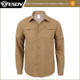 Рубашки новой тренировки конструктора тактической Breathable быстро Drying отделяемые