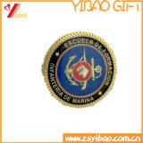 Изготовленный на заказ монетки монетки/сувенира сплава цинка с границей колеса и эпоксидной смолой (YB-SM-89)