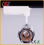 Antireflet 24W 30W 35W a conduit la voie d'éclairage LED de lumière PAR28 PAR30 LED Lampes de chenille