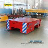 Camion elettrico di trasferimento della guida d'acciaio della casella con il caricamento 5t