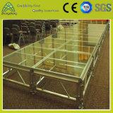 Justierbares Aluminiumacrylaktivitäts-Stadium für LED-Beleuchtung-Leistung