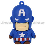 Kapitein America PVC USB Flash Aandrijving (ul-PVC015)