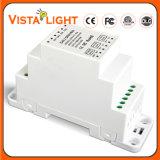 Fuente de alimentación en carril DIN Dual-Use Controlador de LED con atenuación